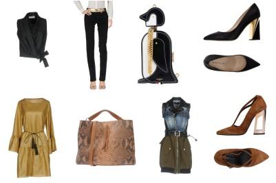 Top Sain Laurent, bottom Gucci, bag Thom Browne, shoes Capitini. Dress Rame, bag Maison Margiela, dress Dsquared2, shoes Marc Ellis.