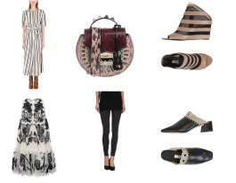 One Piece Moss Copenhagen, bag Salar, shoes Balenciaga, Dress Alexander McQueen, bottom Maison Margiela, shoes Miista.