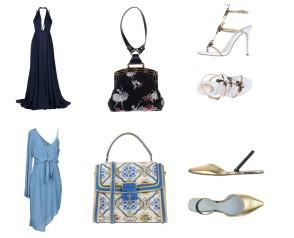 Dress Jason Wu, bag Marc Jacobs, shoes Rene'Caovilla. Dress Elliatt, bag Dolce&Gabbana, shoes Marc Jacobs.