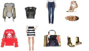 Top .AMEN. - Alberta Ferretti, bottom Guess, shoes Dsquared2. Top Odi et Amo, skirt Dolce & Gabbana, bag Moschino, shoes Dolce & Gabbana.