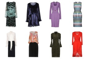 Armani Collezioni, Camicetta Snob, Versace Collection, Escada, Twin-Set Simona Barbieri, VDP Collection, Balmain, Roberto Cavalli.