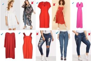 Dress SHEIN, kimono SHEIN, dress St. John, dress SHEIN, dress Von Vonni, dress Weekend Max Mara, dress VDP Collection, jeans SHEIN, jeans Örjan Andersson, jeans SHEIN.