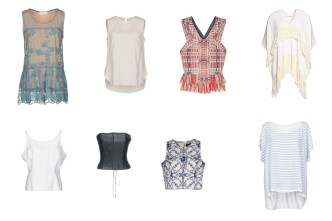 Anna Rachele Jeans Collection, Bruno Cucinelli, Tory Burch, A Piece Apart, Clips, Cailan'd, Marchesa Notte, Les Copains.