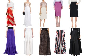 Temperley London for the first 3 looks, Carlo Pignatelli, Daniela Drei, Dsquared2, Chloé, Hanita, Raoul, Bruno Cucinelli.