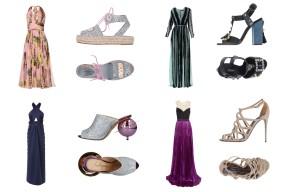 Dress Dolce&Gabbana, shoes Chiara Ferragni. Dress Elie Saab, shoes Dolce&Gabbana. Dress Marc Jacobs, shoes Charlotte Olympia. Dress J. Mendel, shoes Dolce&Gabbana.