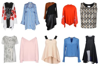 Stella McCartney, By Malene Birger, MM6 Maison Margiela, Free People, George J. Love, VDP Collection, George J. Love, Emporio Armani, Diane Von Furstenberg, Aodress.