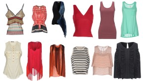Jucca, Marni, Mugler, Must, Only, Sun 68, Balmain, Stella McCartney, Stella McCartney, T by Alexander Wang, Vicolo, Giambattista Valli.